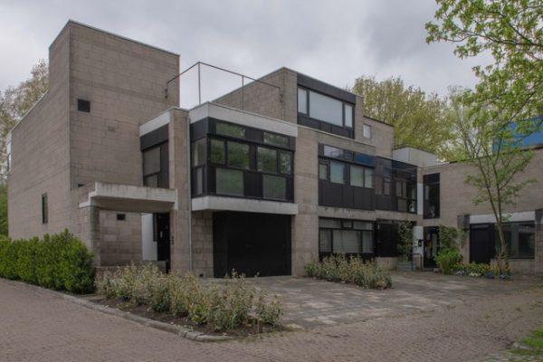 Eén van de Diagoonwoningen in Delft