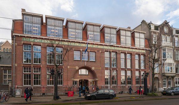 RCO House aan de Gabriel Metsustraat in Amsterdam