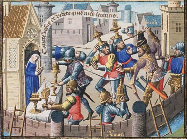De plundering van Rome - Alaric