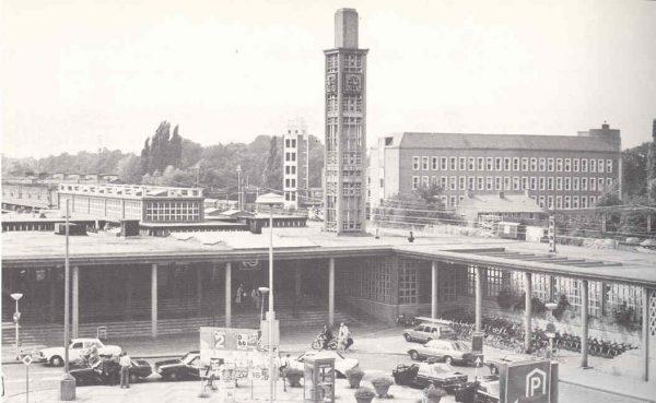 Station Enschede in de jaren 60