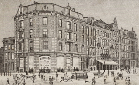 Prent van Hirsch & Cie, uit 1882