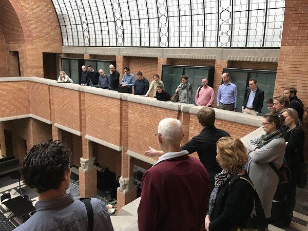 NRP Academie te gast in het voormalig Anatomiegebouw van de Universiteit Utrecht