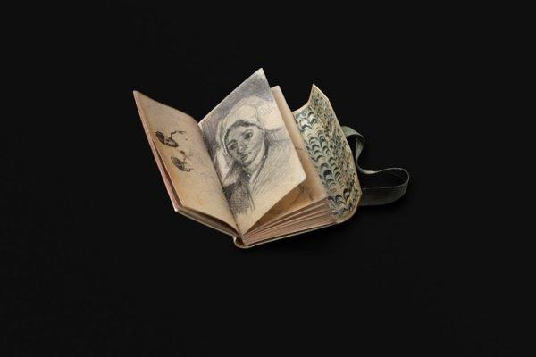 Een facsimile van een schetsboekje van Vincent van Gogh