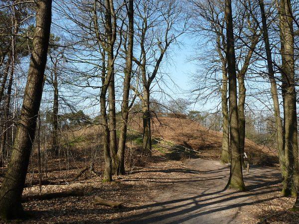 Het Romeinse Limespad voert langs de Duivelsberg (Gelderland)