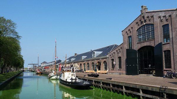 De voormalige rijkswerf Willemsoord