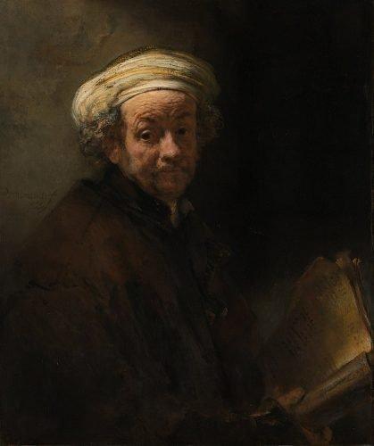 Rembrandt - Zelfportret als de apostel Paulus (1661)