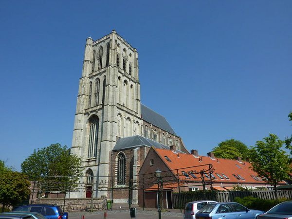 De Sint Catharijnekerk in Brielle