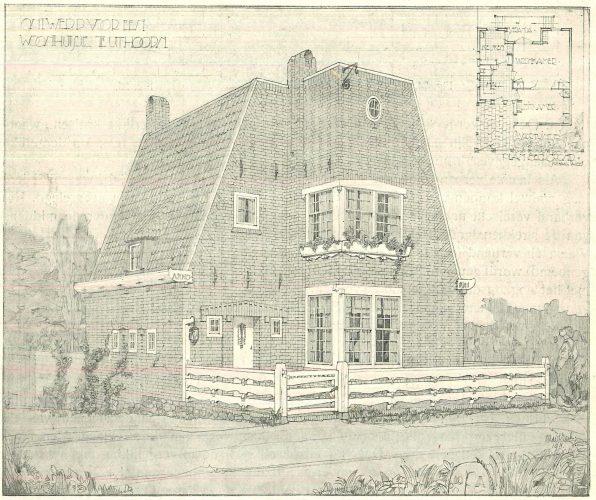 Woonhuis van Michel de Klerk, Uithoorn Beeld: Michel de Klerk via wikimedia