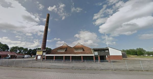 De voormalige steenfabriek Hijlkema/Fivelmonde in Delfzijl (2017)
