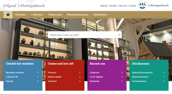 Homepage Erfgoed 's-Hertogenbosch