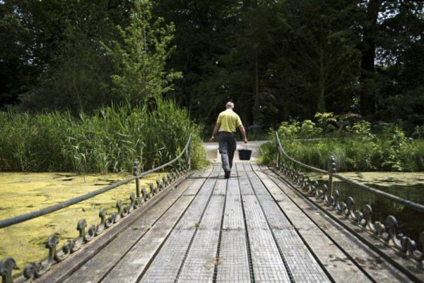 Ook voor onderhoud aan een groen rijksmonument kan instandhoudingssubsidie worden aangevraagd. Hier de tuin van Kasteel Duivenvoorde in Voorschoten