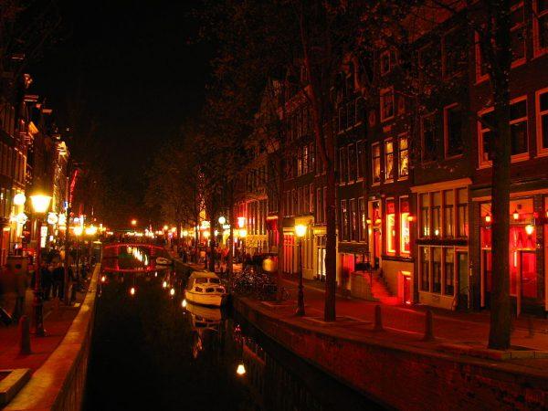 De Wallen in Amsterdam (2008)