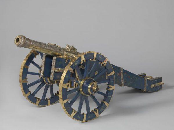 Het kanon van de koning van Kandy, dat Nederland in 1765 buit maakte tijdens een militaire campagne