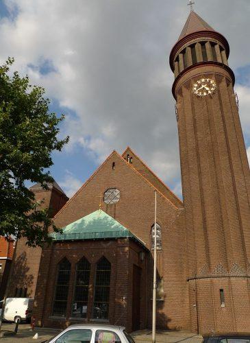 De Heilig Hartkerk in Eindhoven