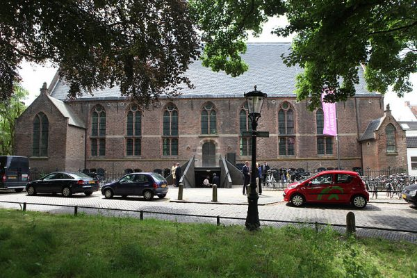 Het Leeuwenbergh Gasthuis in het centrum van Utrecht