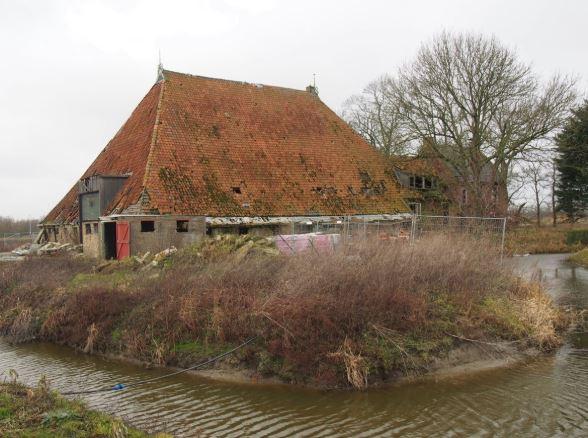 De boerderij Buma State in Leeuwarden