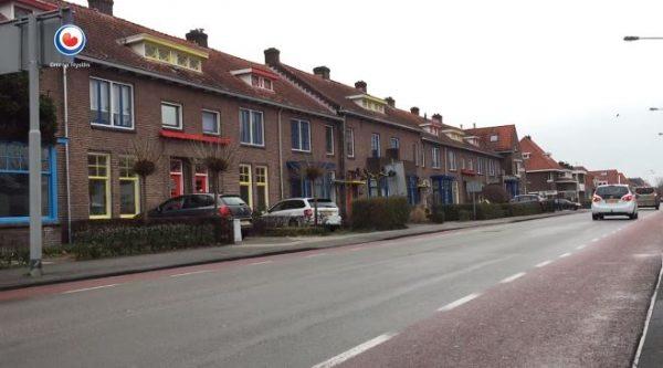 De Torenstraat in de Papagaaienbuurt in Drachten