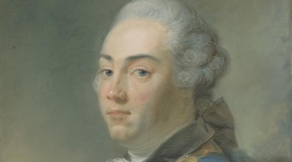 Portret van Jacob van Kretschmar Beeld: Perronneau