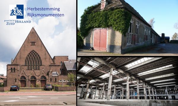 Herbestemde monumenten Zuid-Holland