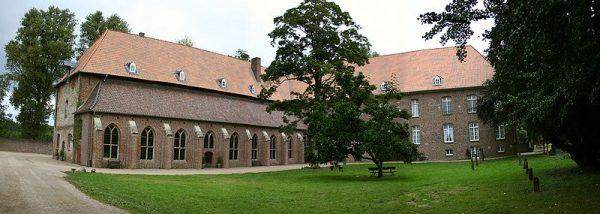 Het klooster Graefenthal bij de stad Goch in Duitsland (2010)