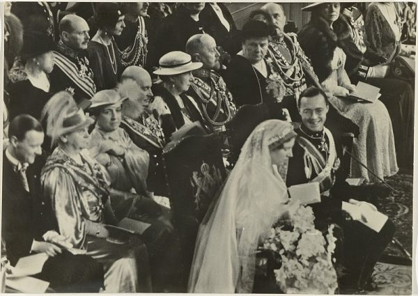 Huwelijk prinses Juliana en prins Bernhard,
