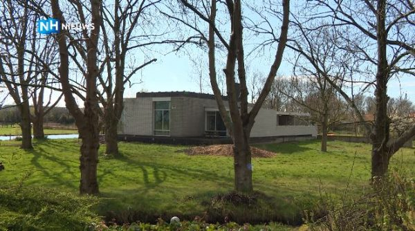 Het door Gerrit Rietveld ontworpen Woonhuis Van den Doel in Ilpendam