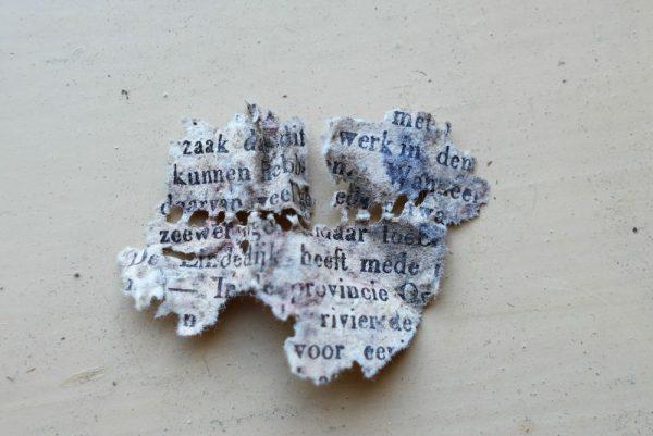 Sporen uit havezate Oldengaerde,