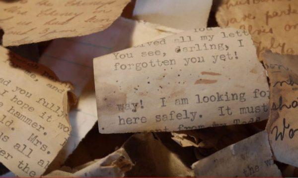 Gevonden documenten uit de Tweede Wereldoorlog