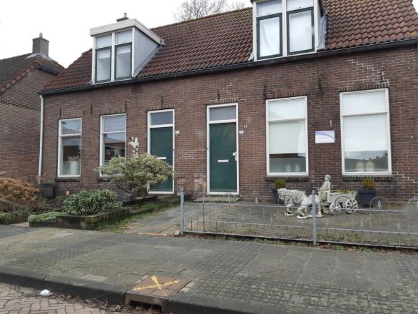 De karakteristieke woonhuizen in Drachten
