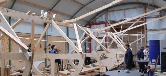 De bouw van het Friese Vikingschip