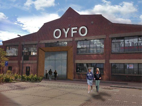 Voormalige Hazemeijer-fabriek in Hengelo