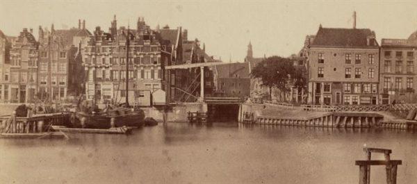 De Texelse Kade in Amsterdam (1861)