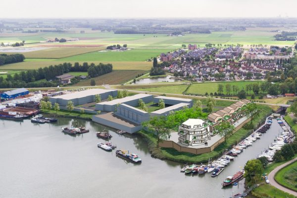 Bouwplannen Hoge Maasdijk, Woudrichem
