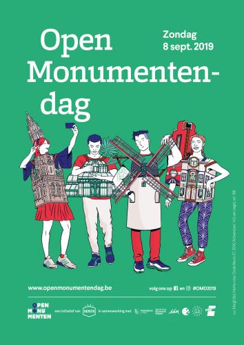 Open Monumentendag 2019 Vlaanderen