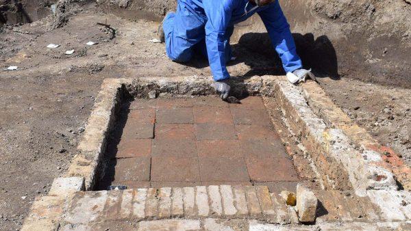 Archeologisch onderzoek in Oosterend op Texel