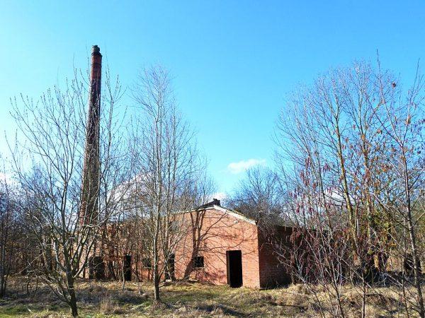 De voormalige steenfabriek Rusthoven in Wirdum (2011)
