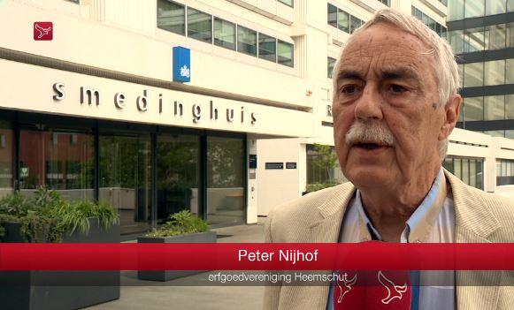 Peter Nijhof, Erfgoedvereniging Heemschut
