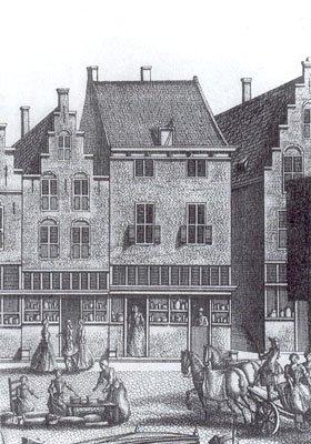 Herberg Mechelen, woonhuis van Johannes Vermeer, Delft