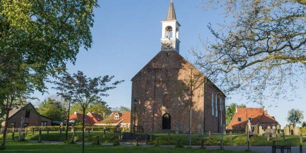 De Nederlands hervormde kerk in Wirdum