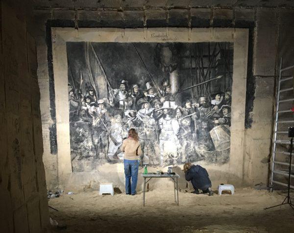 Ondergrondse Nachtwacht van Jules Sondeijker Grotten Zonneberg