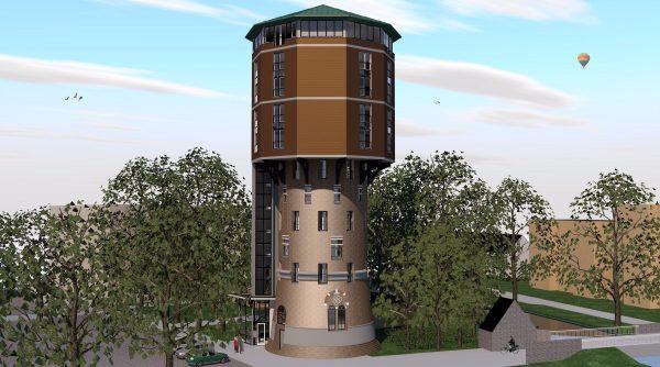 Watertoren Zwolle Beeld: 19 Het Atelier