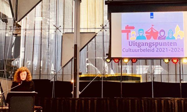 Minister Van Engelshoven presenteert de uitgangspunten cultuurbeleid 2021-2024.