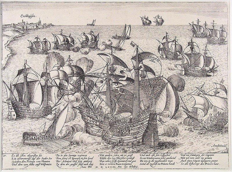 Archeoloog doet met vrijwilligers onderzoek naar de Slag op de Zuiderzee