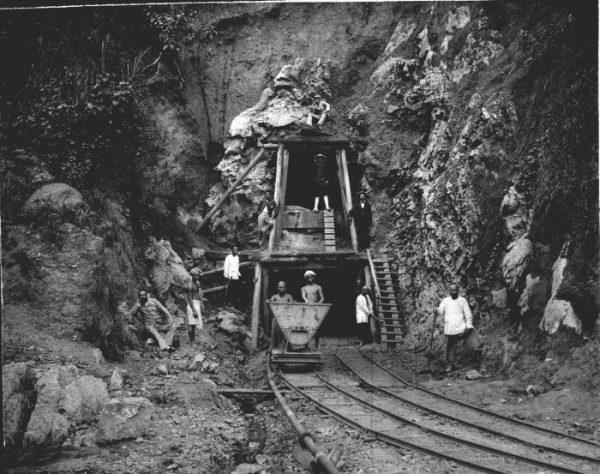 De Ombilin-mijnen op Sumatra (1900)