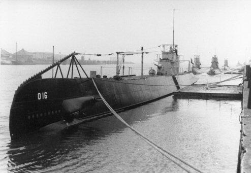 De Nederlandse onderzeeboot O 16