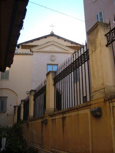 De Friezenkerk (Santi Michele e Magno) in Rome