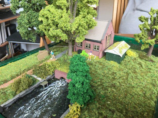 Dieselgemaal Alkmaar (Diorama)