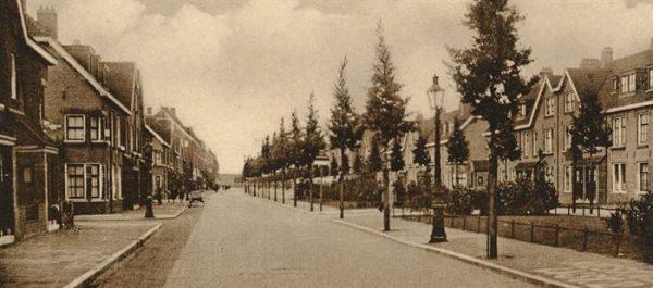 De Van der Pekstraat in Amsterdam-Noord (1930)