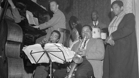 Optreden Kid Dynamite in Casablanca in 1956