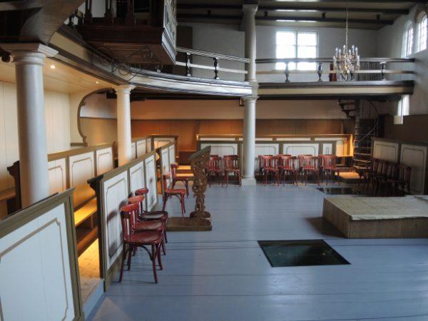 Het Bolwerkkerkje in Franeker
